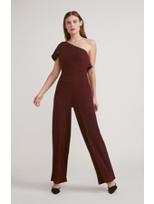 BB Dakota 'LA Woman' One Shoulder Jumpsuit (Size 6) **FINAL SALE**