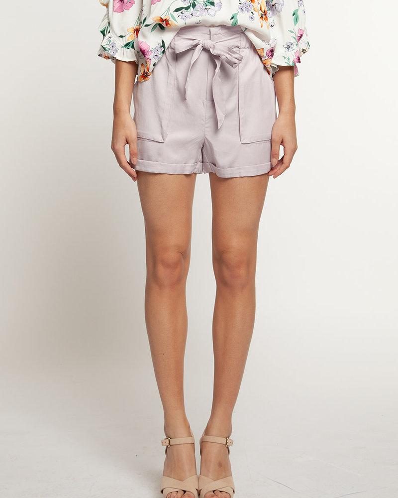 Dex Dex 'Pale As Ever' Paperbag Shorts