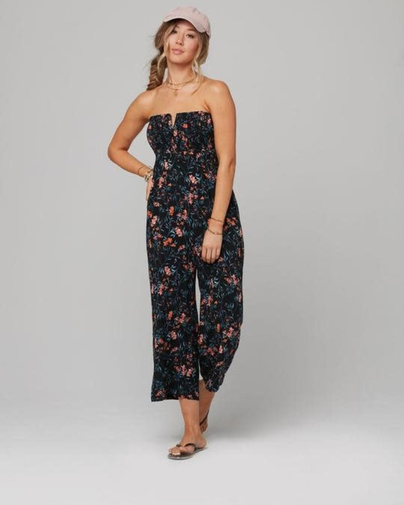 Knot Sisters Knot Sisters Summer Nights Floral 'Rosemary' Jumpsuit