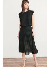 Week& 'Night Life' Pleated Dress