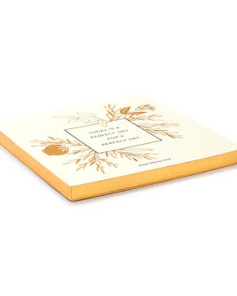 Compendium Compendium 'Perfect Day' Daily Planner Pad