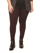Dex Plus 'Cherise' Moto Legging (2X) **FINAL SALE**