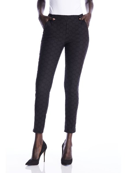 I Love Tyler Madison Black 'Gwyneth Circles' Pant (Small) **FINAL SALE**
