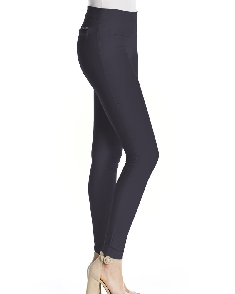 I Love Tyler Madison I Love Tyler Madison Navy 'Mara Twill' Cavalli Basic Pant