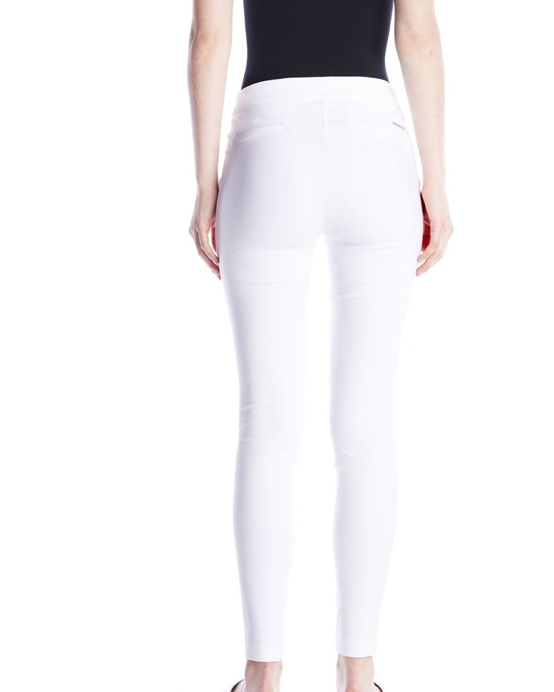 I Love Tyler Madison I Love Tyler Madison White 'Mara Twill' Cavalli Basic Pant