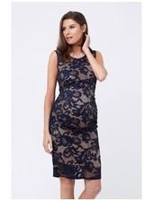 Ripe Navy 'Eden' Lace Maternity Dress **FINAL SALE**