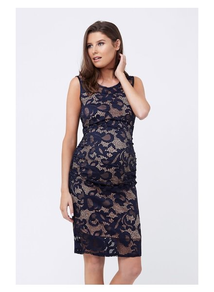 Ripe Navy 'Eden' Lace Maternity Dress **FINAL SALE**