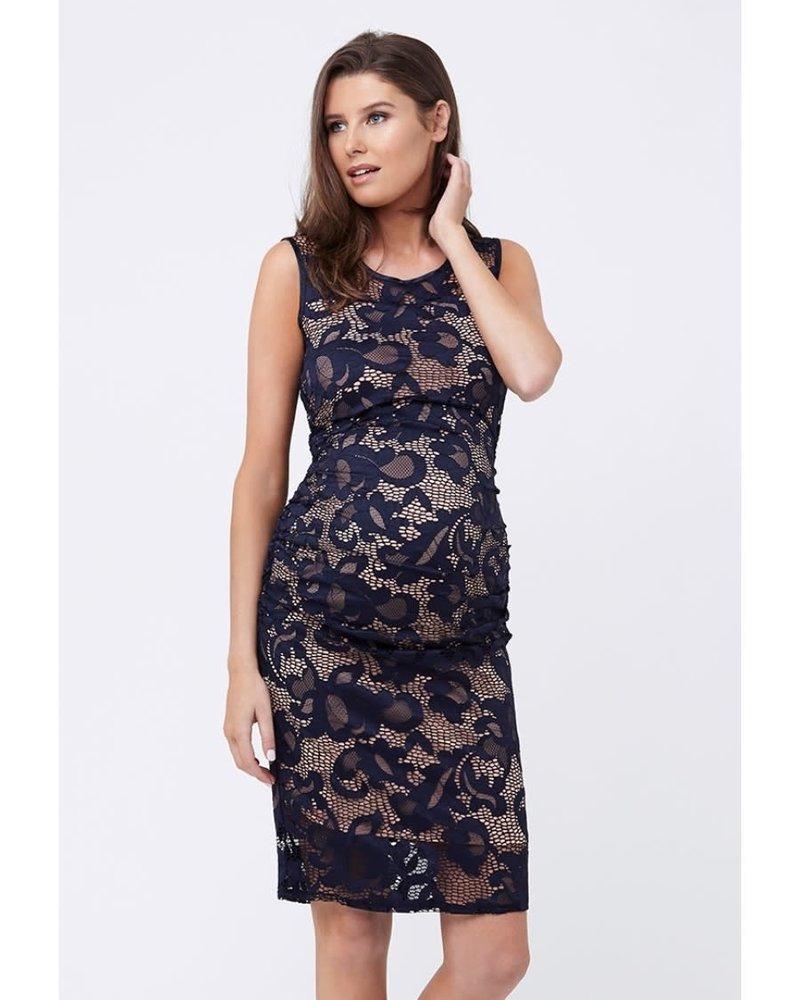 Ripe Ripe Maternity Navy 'Eden' Lace Maternity Dress **FINAL SALE**