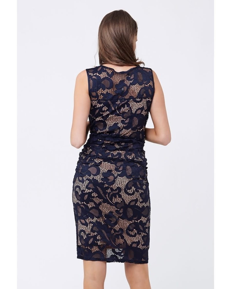 Ripe Ripe Maternity Navy 'Eden' Lace Dress