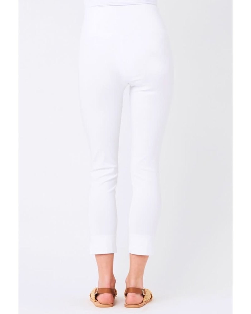 Ripe Ripe Maternity White 'Suzie' Capri Pant **FINAL SALE**