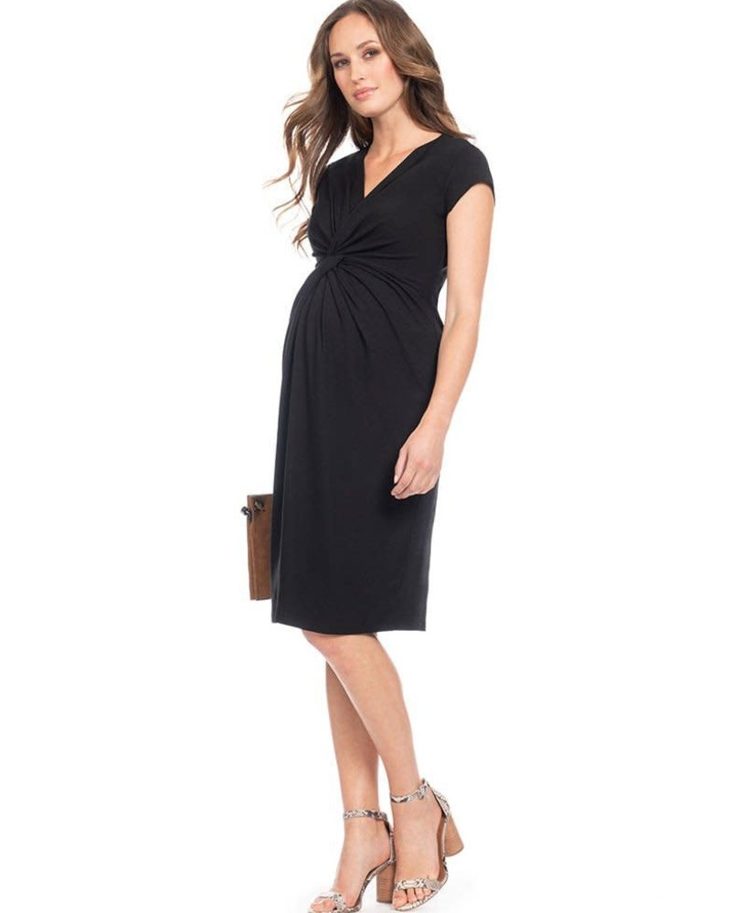 Seraphine Maternity Seraphine Maternity 'Cordelia' Knot Front Dress