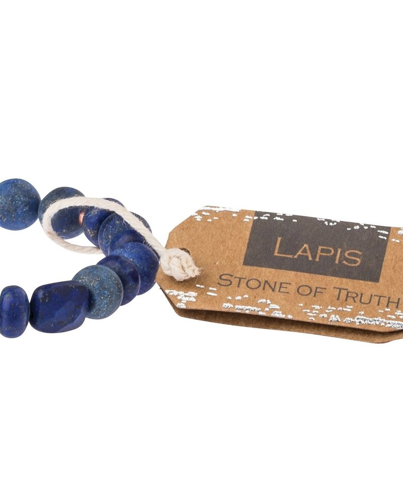 Scout Curated Wears Scout Lapis Stone Stacking Bracelet