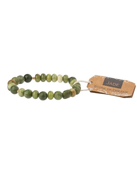 Scout Curated Wears Jade Stone Stacking Bracelet
