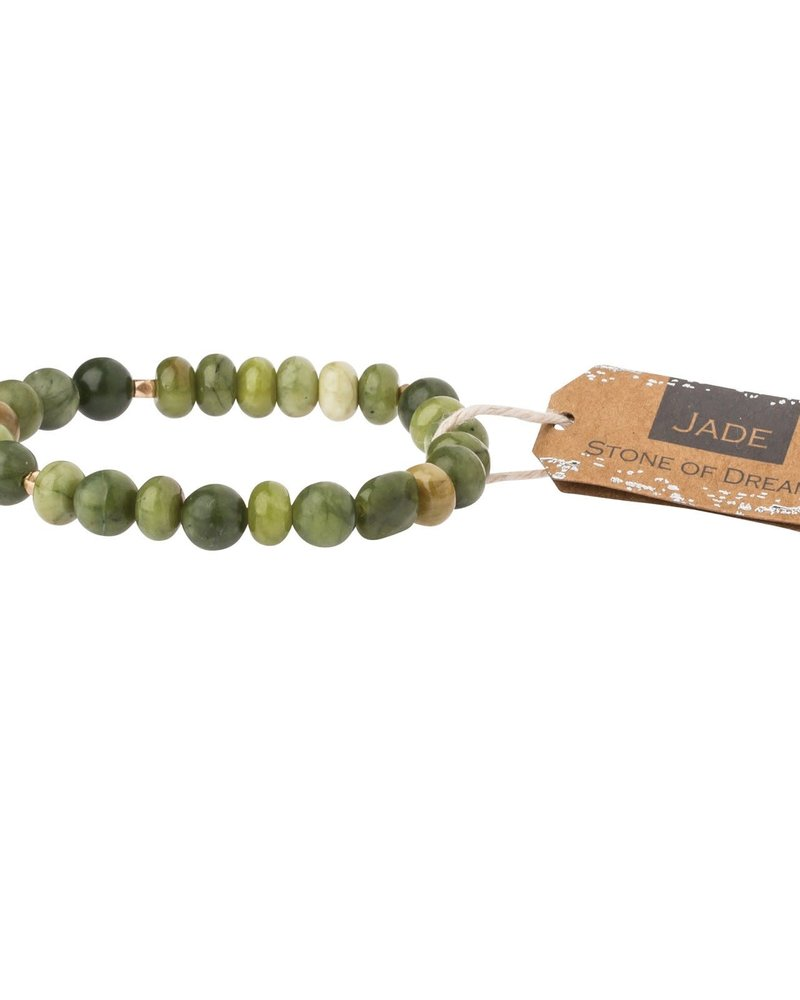 Scout Curated Wears Scout Jade Stone Stacking Bracelet