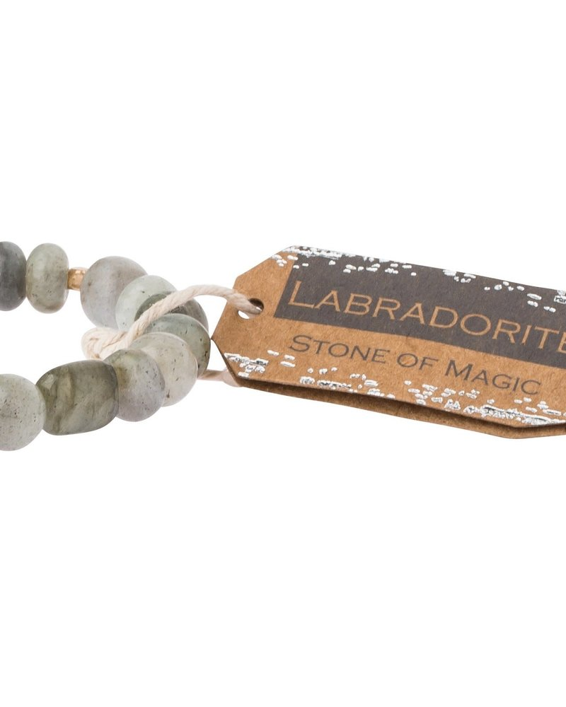 Scout Curated Wears Scout Labradorite Stone Stacking Bracelet