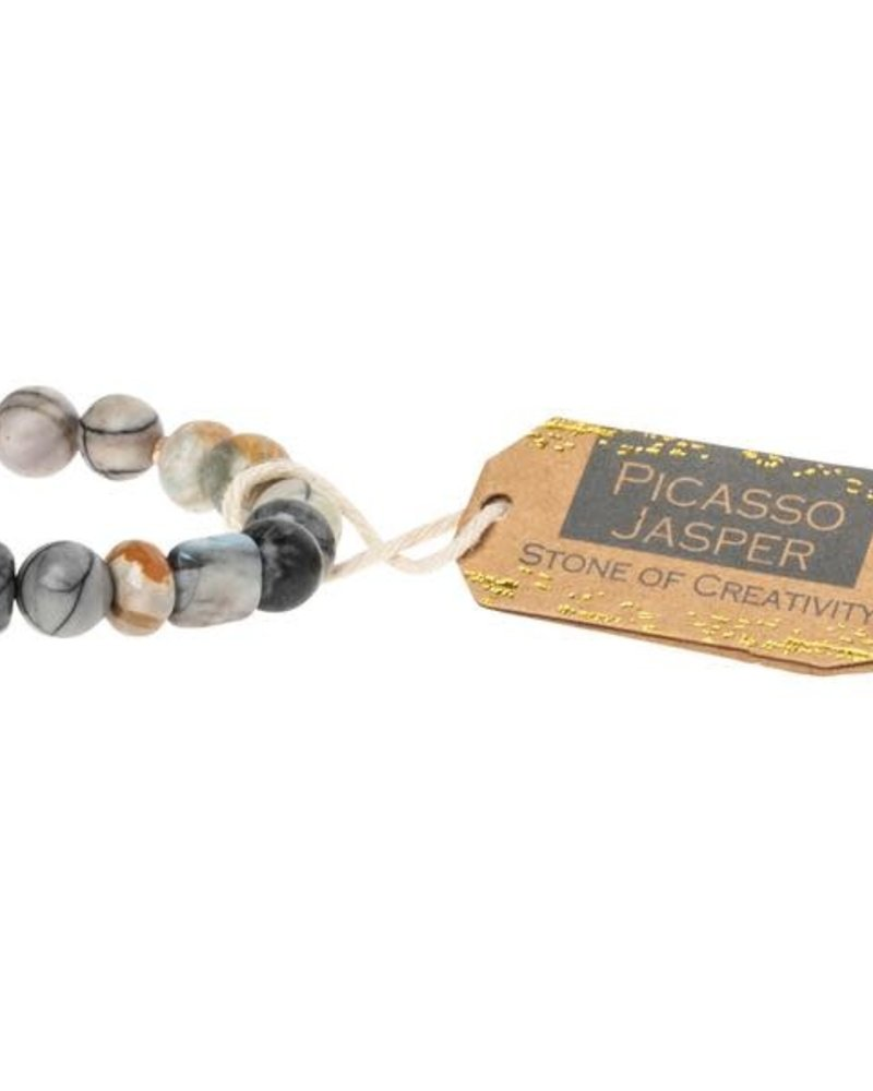 Scout Curated Wears Scout Picasso Jasper Stone Stacking Bracelet