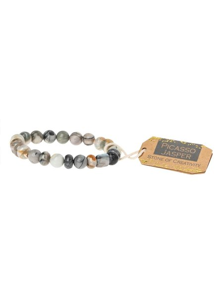 Scout Curated Wears Picasso Jasper Stone Stacking Bracelet