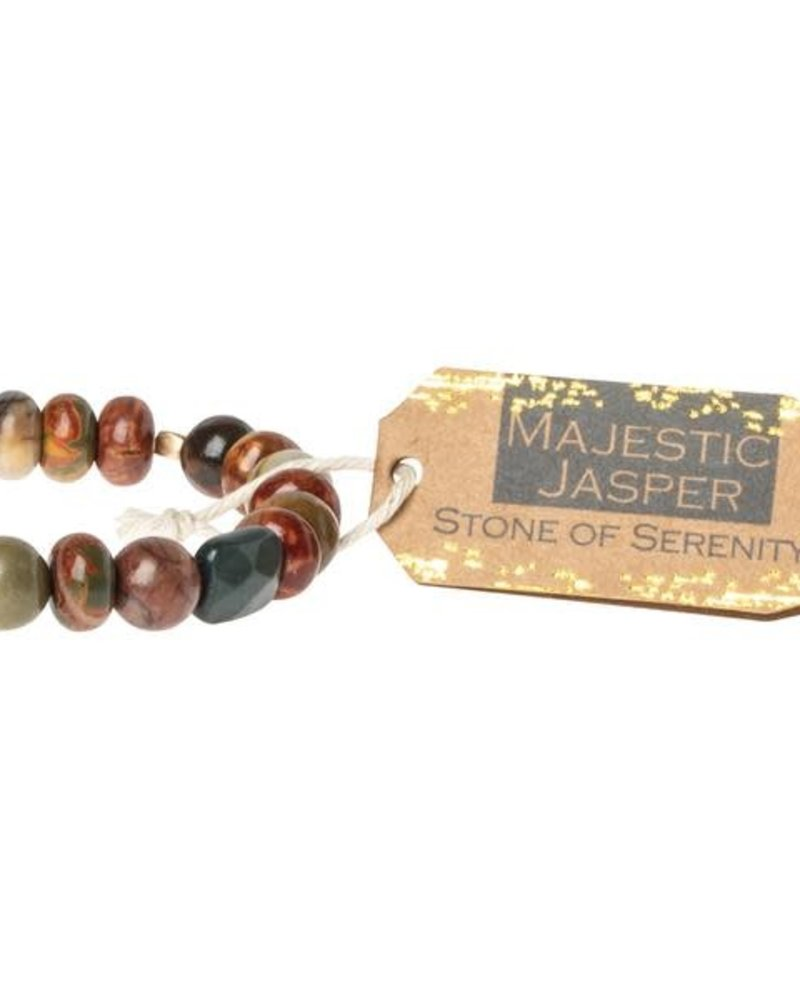 Scout Curated Wears Scout Majestic Jasper Stone Stacking Bracelet