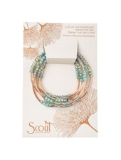 Scout Curated Wears Neptune & Rose Gold Original Wrap Bracelet/Necklace