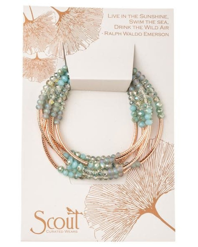 Scout Curated Wears Scout Neptune & Rose Gold Original Wrap Bracelet/Necklace