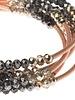 Scout Curated Wears Scout Metallic Tri-Tone Matte & Rose Gold Original Wrap Bracelet/Necklace