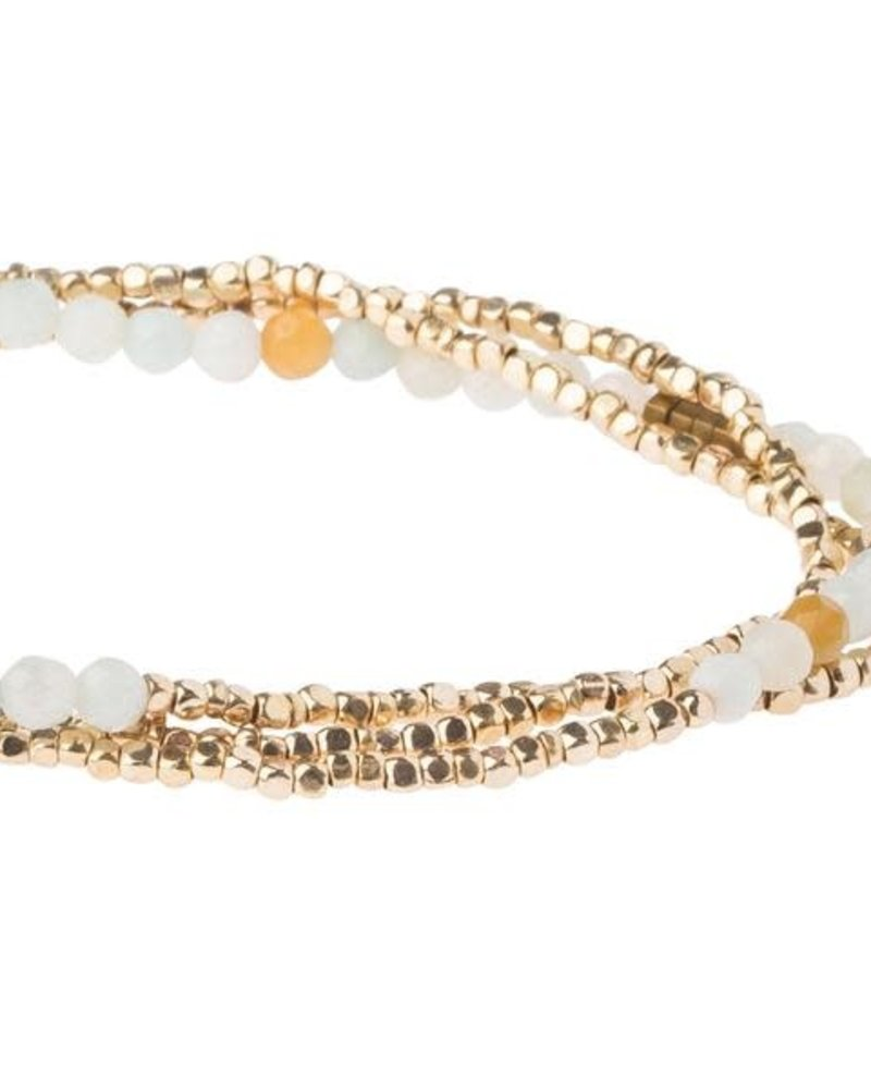 Scout Curated Wears Scout Amazonite Delicate Stone Wrap Bracelet/Necklace