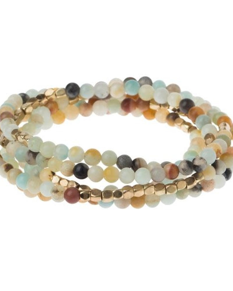 Scout Curated Wears Scout Amazonite Stone Wrap Bracelet/Necklace