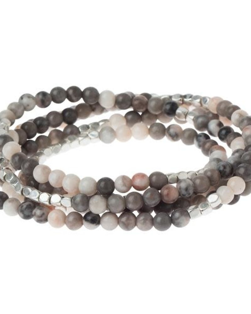 Scout Curated Wears Scout Ocean Agate Stone Wrap Bracelet/Necklace