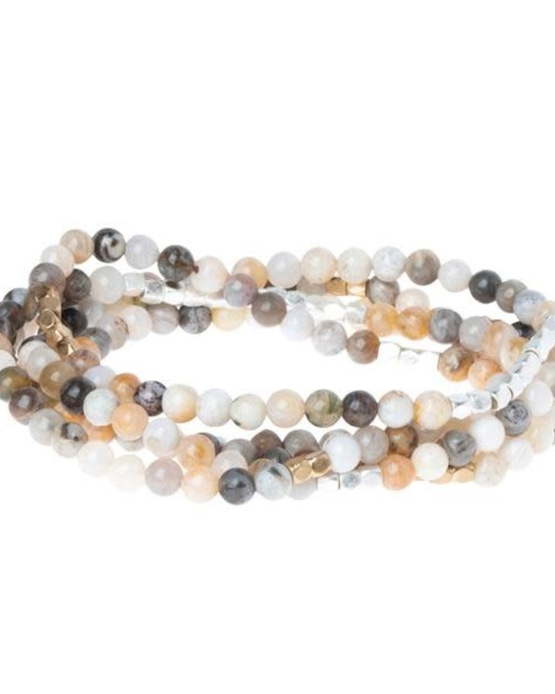 Scout Curated Wears Scout Mexican Onyx Stone Wrap Bracelet/Necklace