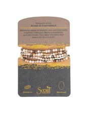 Scout Curated Wears Mexican Onyx Stone Wrap Bracelet/Necklace