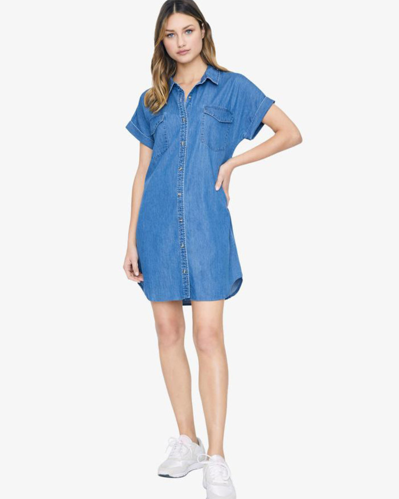 Sanctuary Clothing Sanctuary 'Sunset' Shirt Dress