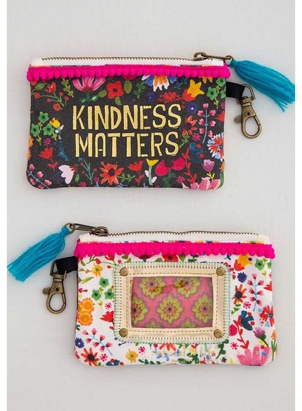 Natural Life ID Pouch - 'Kindness Matters'