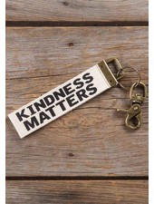 Natural Life 'Kindness Matters' Canvas Keychain