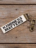 Natural Life Natural Life 'Kindness Matters' Canvas Keychain