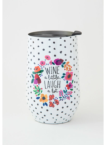 Natural Life 'Wine A Little' Wine Tumbler