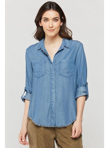 Velvet Heart 'Riley Julian' Denim Shirt