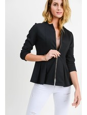 Doe & Rae 'Suit-Up' Peplum Jacket