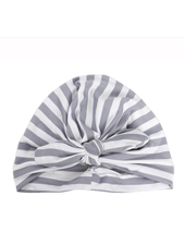 Emerson & Friends Grey Striped Baby Turban