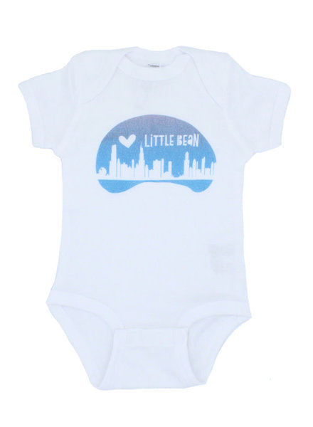 Emerson & Friends Short Sleeve 'Little Bean' Onesie