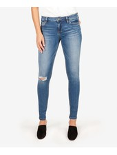 Kut from the Kloth 'Mia' Slim Fit Skinny Jeans in Lighten