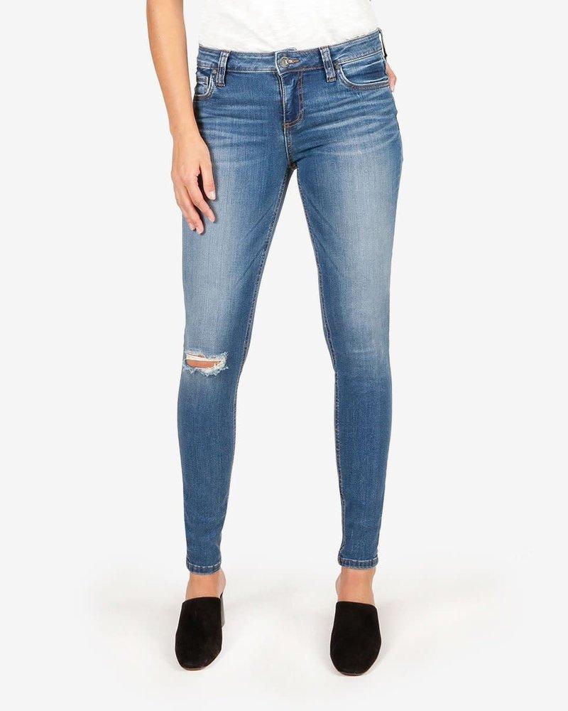 Kut from the Kloth Kut from the Kloth 'Mia' Toothpick Skinny Jeans in Lighten