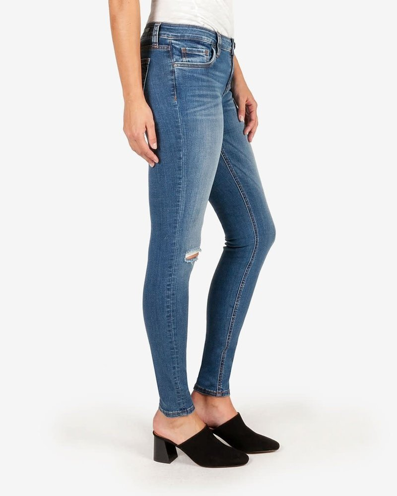 Kut from the Kloth Kut from the Kloth 'Mia' Toothpick Skinny Jeans in Lighten