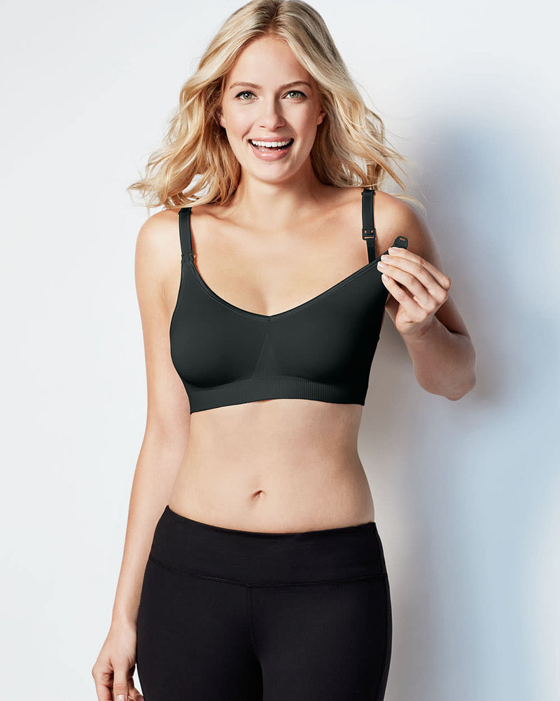 Bravado Designs Bravado Black Body Silk Seamless Nursing Bra
