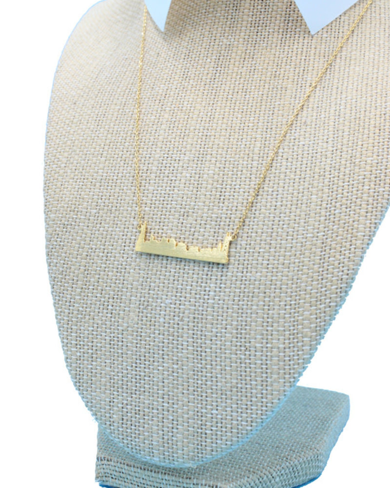 Must Have Must Have Chicago Skyline Dainty Necklace