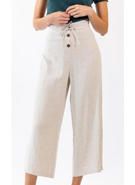 Pink Martini Collection 'Desert Rose' Wide Leg Pant (Extra Small)