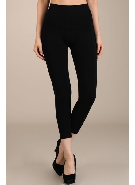 M. Rena Cropped Tummy Tuck Leggings (More Colors)
