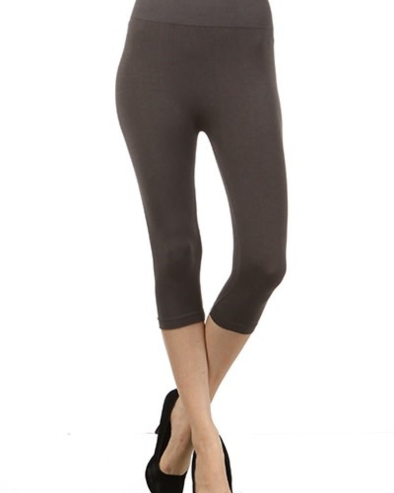 M. Rena M. Rena Cropped Tummy Tuck Leggings