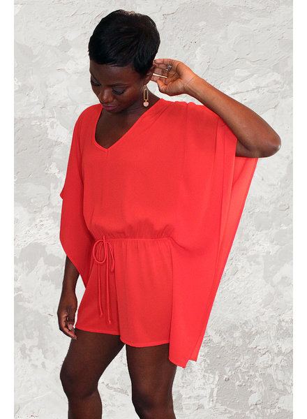 KLD Signature 'Candy Apple' Romper **FINAL SALE**
