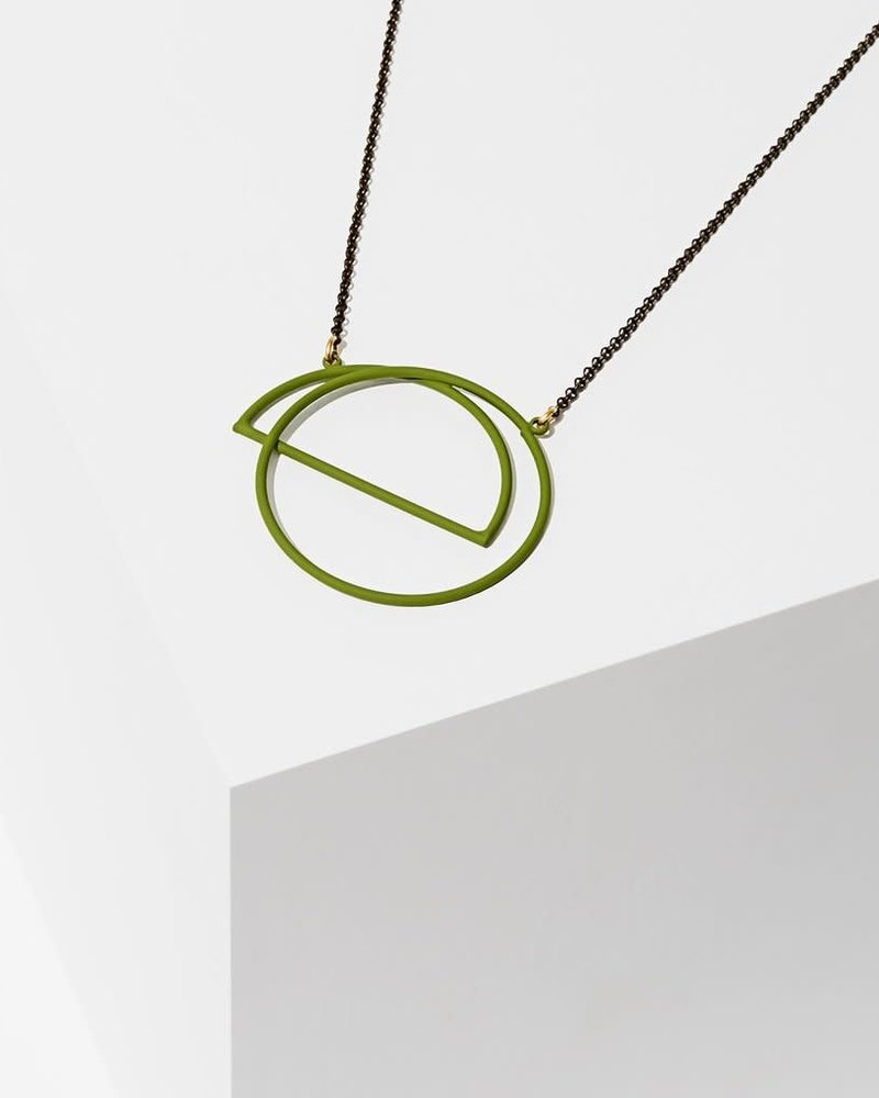 Larissa Loden Larissa Loden Green 'Charade' Necklace