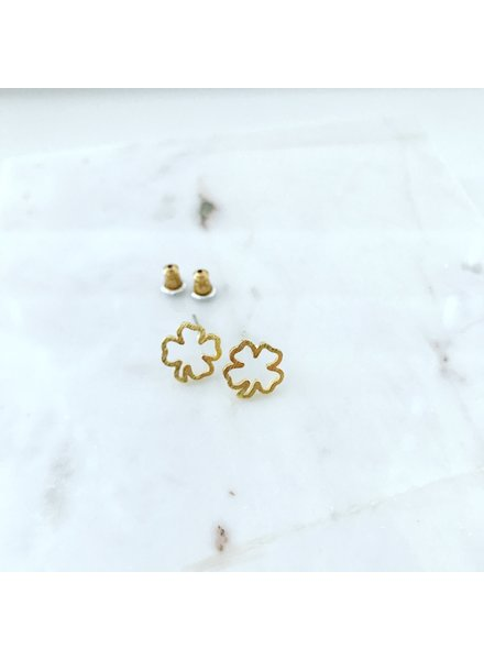 Must Have Cutout Clover Earrings (3 Colors)